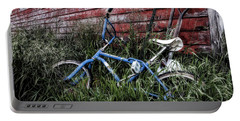 Portable Battery Charger featuring the photograph Country Bicycle by Brad Allen Fine Art
