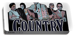 Authentic Country Blues Portable Battery Charger