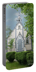 Portable Battery Charger featuring the photograph Country Church by Rod Wiens