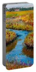 Country Creek Portable Battery Charger by Mike Caitham