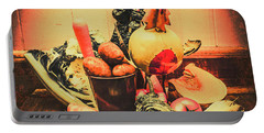 Country Kitchen Art Portable Battery Charger
