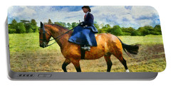 Portable Battery Charger featuring the photograph Country Ride by Scott Carruthers