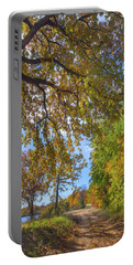 Country Road Portable Battery Charger by Tim Fitzharris