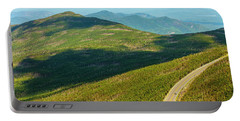 Country Road To My Home Whiteface Mountain New York Portable Battery Charger