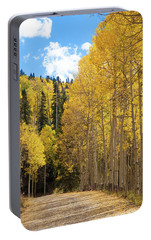 Portable Battery Charger featuring the photograph Country Roads by David Chandler