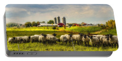 Country Sheep Portable Battery Charger