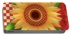 Country Sunflower Portable Battery Charger