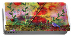 Country Sunrise Portable Battery Charger by Donna Blackhall