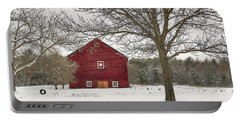Country Vermont Portable Battery Charger by Sharon Batdorf