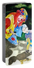 Couple Of Clowns Portable Battery Charger
