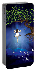 Dreamscape Portable Battery Charger by Serena King