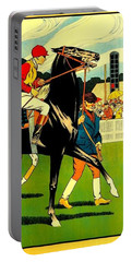Courses De Chalon French Horse Racing 1911 II Portable Battery Charger