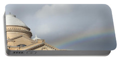 Courthouse Rainbow Portable Battery Charger