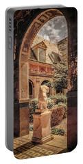 Paris, France - Courtyard East - L'ecole Des Beaux-arts Portable Battery Charger