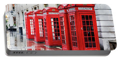Covent Garden Phone Boxes Portable Battery Charger