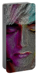 Portable Battery Charger featuring the digital art Cover Up by Rafael Salazar