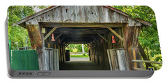 Covered Bridge Hdr Portable Battery Charger