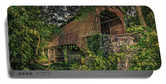 Portable Battery Charger featuring the photograph Covered Bridge by Lewis Mann