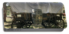 Covered Wagon In Evergreen, Colorado Portable Battery Charger
