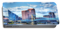 Covington Kentucky Skyline Portable Battery Charger