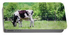 Cow Grazing Portable Battery Charger