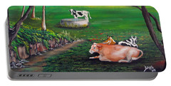 Cow Tales Portable Battery Charger