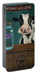 Cow Tipping Portable Battery Charger