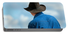 Cowboy Back Portable Battery Charger