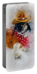Cowboy Bulldog Portable Battery Charger