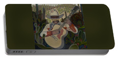 Cowboy In The Cactus Portable Battery Charger