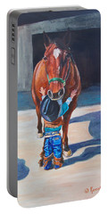 Cowboy's First Love Portable Battery Charger