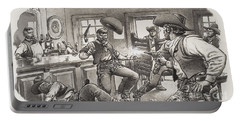 Cowboys Of Oregon  Portable Battery Charger