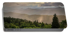 Cowee Mountains Sunset 2 Portable Battery Charger by Serge Skiba