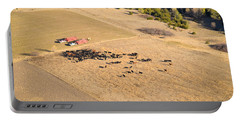 Cows And Trucks Portable Battery Charger