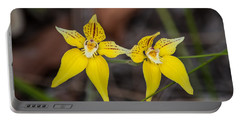 Cowslip Orchid Australia Portable Battery Charger