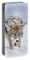 Coyote Coming Through Portable Battery Charger