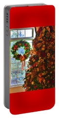 Portable Battery Charger featuring the photograph Cozy Christmas by Diane Alexander