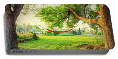 Portable Battery Charger featuring the photograph Cozy Lazy Afternoon by James BO Insogna