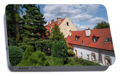 Portable Battery Charger featuring the photograph Cozy Prague by Jenny Rainbow