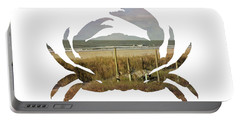 Crab Beach Portable Battery Charger