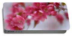 Crabapple Blossom - Dark Pink Portable Battery Charger
