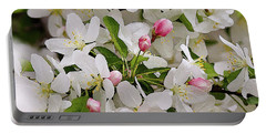Crabapple Blossoms 5 Portable Battery Charger