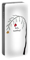 Crabby Bah Humbug Christmas Tree - Bah Humbug Portable Battery Charger