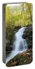 Crabtree Falls In The Fall Portable Battery Charger