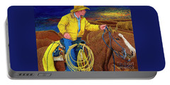 Cracker Cowboy Sunrise Portable Battery Charger