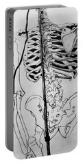Crackling Bones Portable Battery Charger