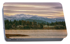 Portable Battery Charger featuring the photograph Craig Bay by Randy Hall