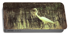 Crane Portable Battery Charger by Bonnie Willis