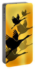 Cranes In Flight Portable Battery Charger