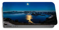 Crater Lake Moonlight Portable Battery Charger